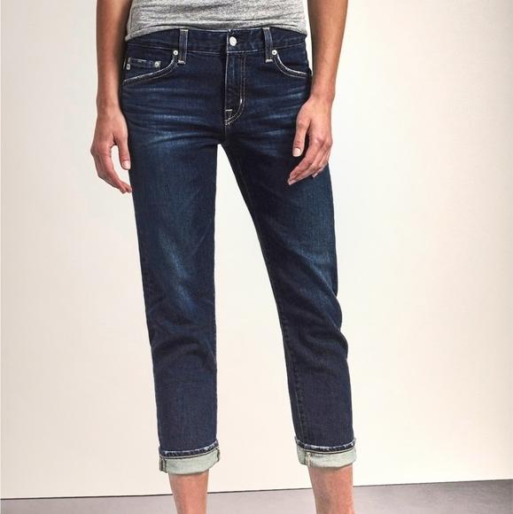 AG Denim Boyfriend Slim Slouchy Jean • Size 30